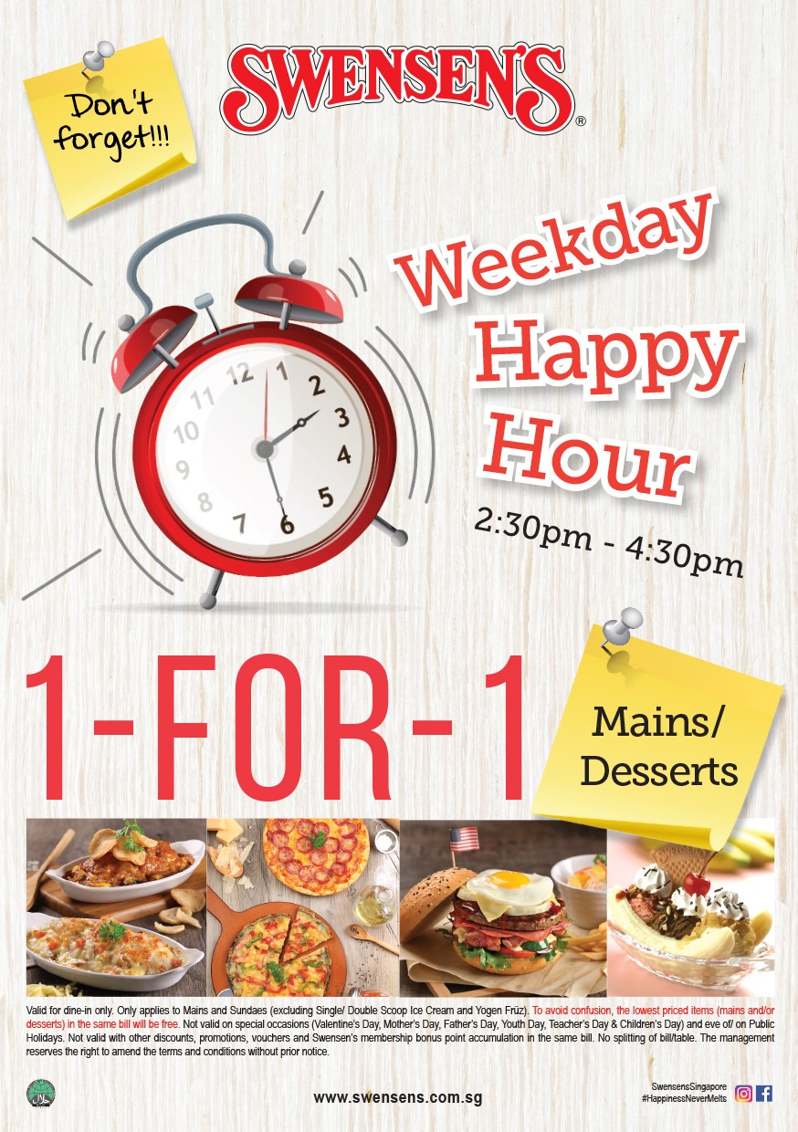 Weekdays Happy Hour