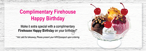 Firehouse Happy Birthday