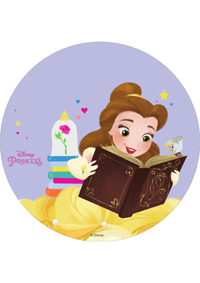 Book Worm Belle