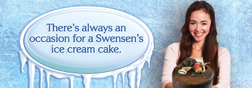 Celebrate with Swensen's Ice Cream cake!