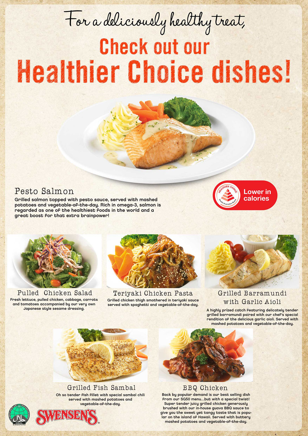 Healthier Choice Dishes