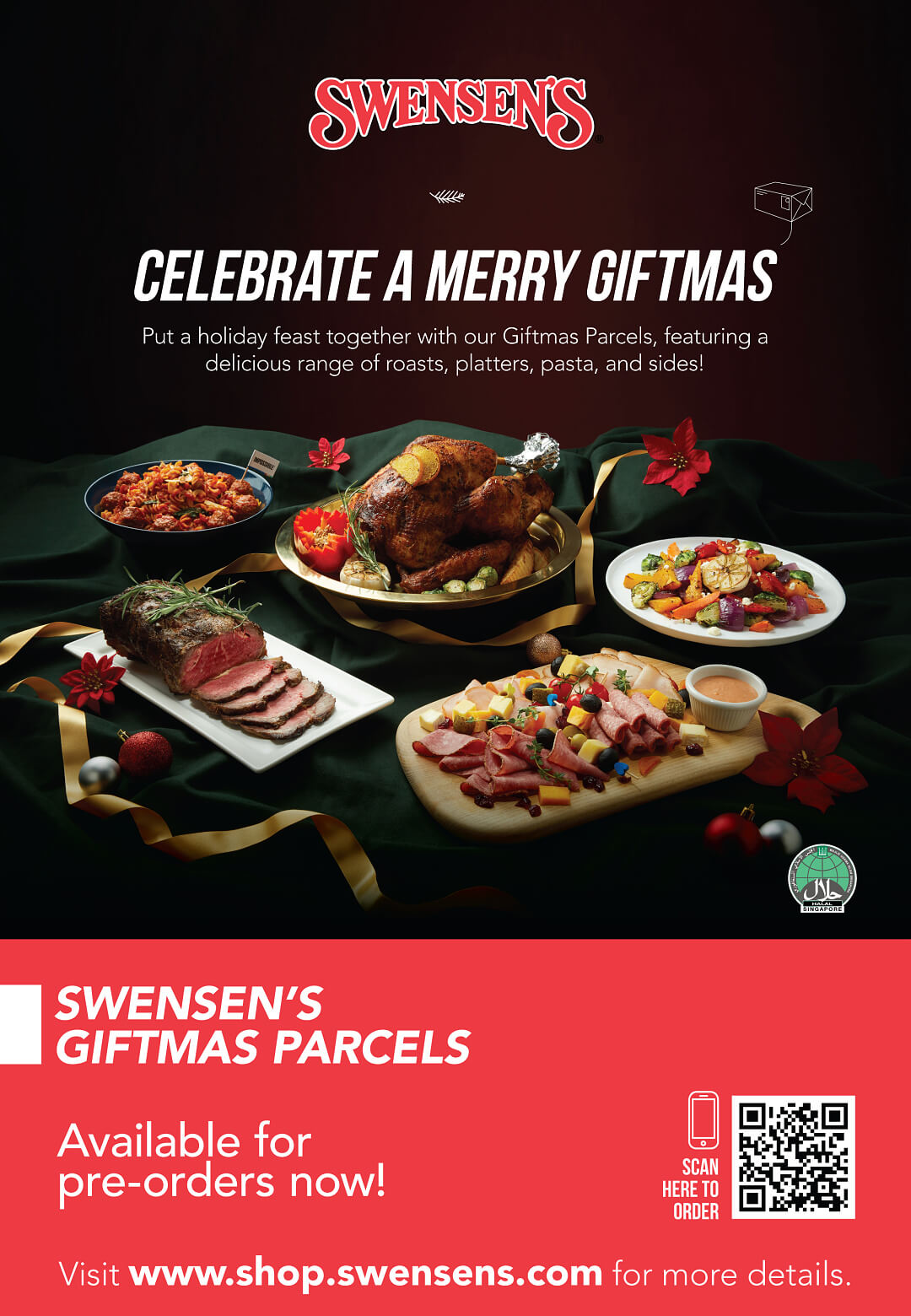Swensen's Christmas Catalogue and Giftmas Parcels 2020