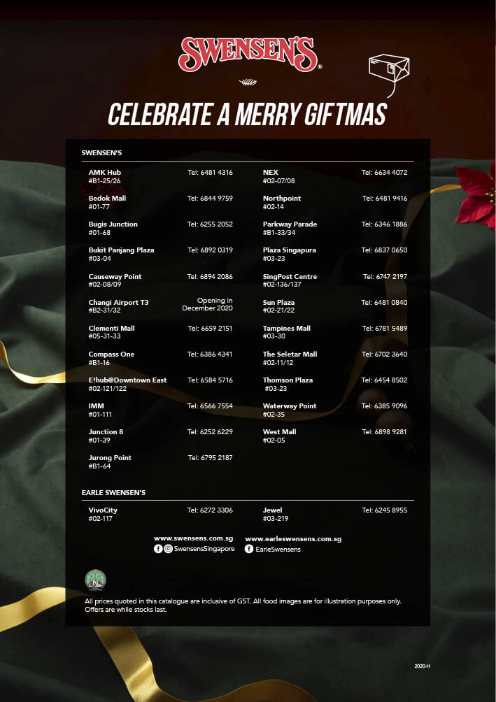 Swensen's Christmas Catalogue and Giftmas Parcels 2020 Page 16