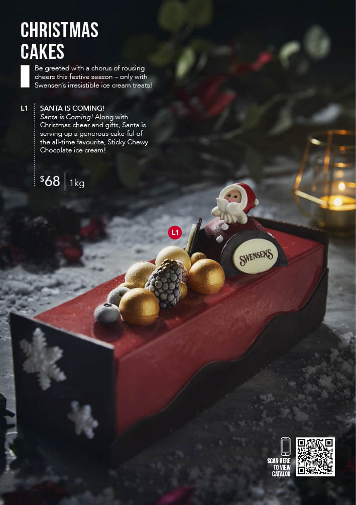 Swensen's Christmas Catalogue and Giftmas Parcels 2020 Page 2