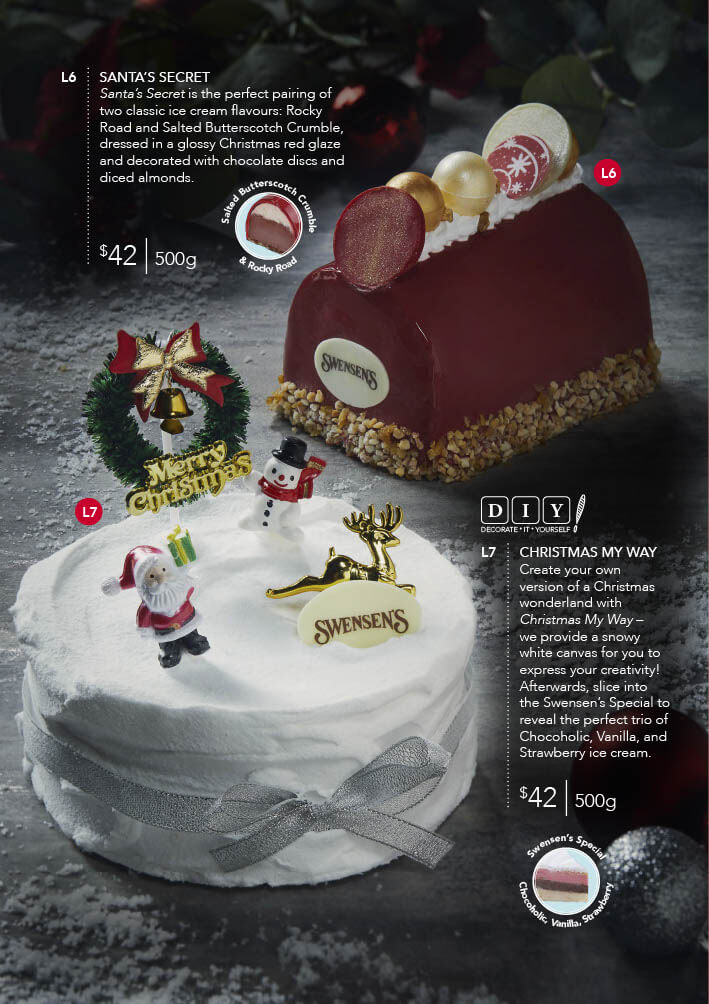 Swensen's Christmas Catalogue and Giftmas Parcels 2020 Page 6