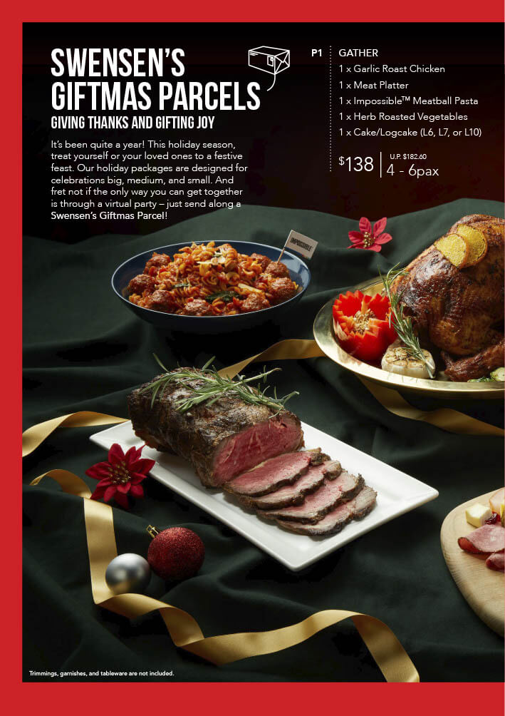 Swensen's Christmas Catalogue and Giftmas Parcels 2020 Page 8